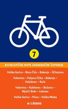 veleševec karta Bicycle maps   Zagreb county tourist board veleševec karta